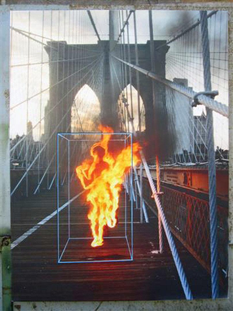 Ordinary World Paolo Buggiani Minotauro Brooklyng bridge