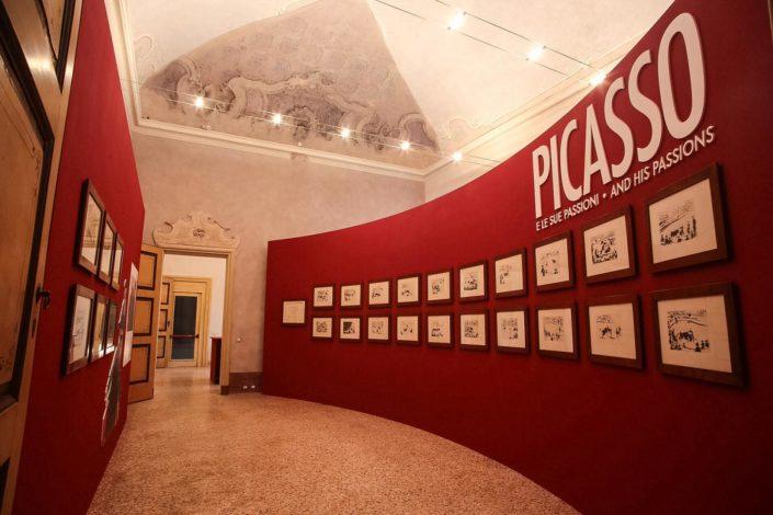 Comediarting Picasso e le sue passioni a Palazzo Vistarino Pavia