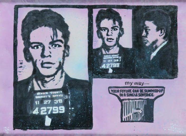 My Way (Assinado por / Signed by Pietro Psaier - The Factory) Serigrafia / Papel Silkscreen / Paper 60 x 81 cm