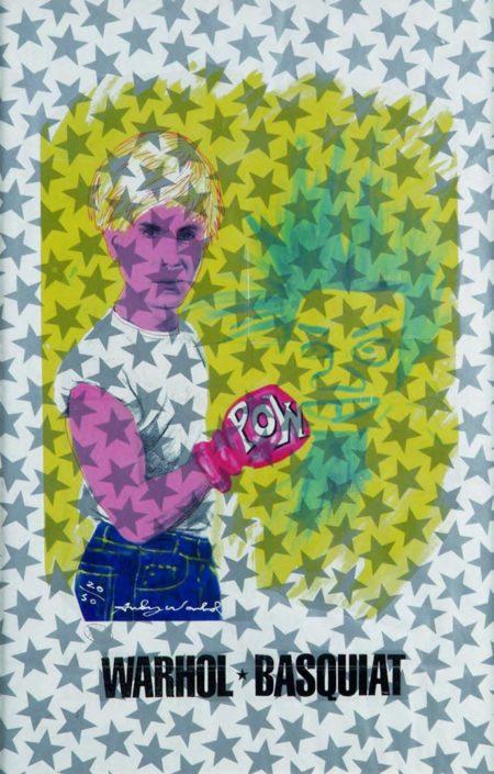 Pow Warhol & Basquiat (Assinado por / Signed by Andy Warhol e Pietro Psaier) Serigrafia / Papel Silkscreen / Paper 90 x 60 cm