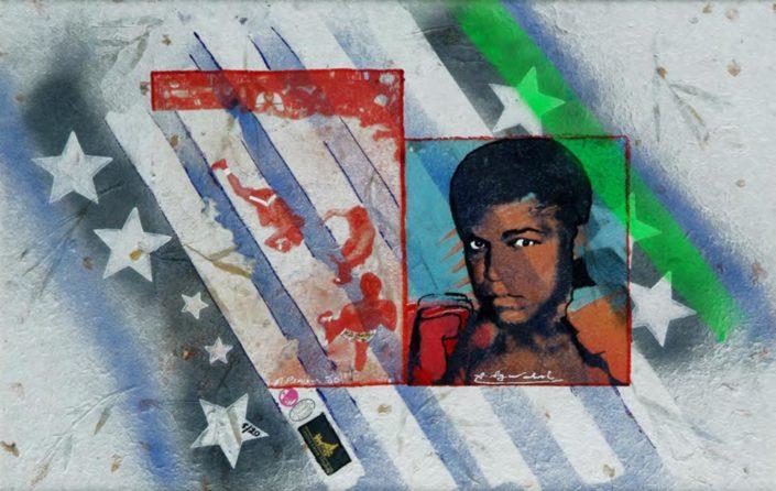 Delux Alí. 1980 (Assinado por / Signed by Andy Warhol e Pietro Psaier) Serigrafia / Papel / Silkscreen / Paper 60 x 91 cm