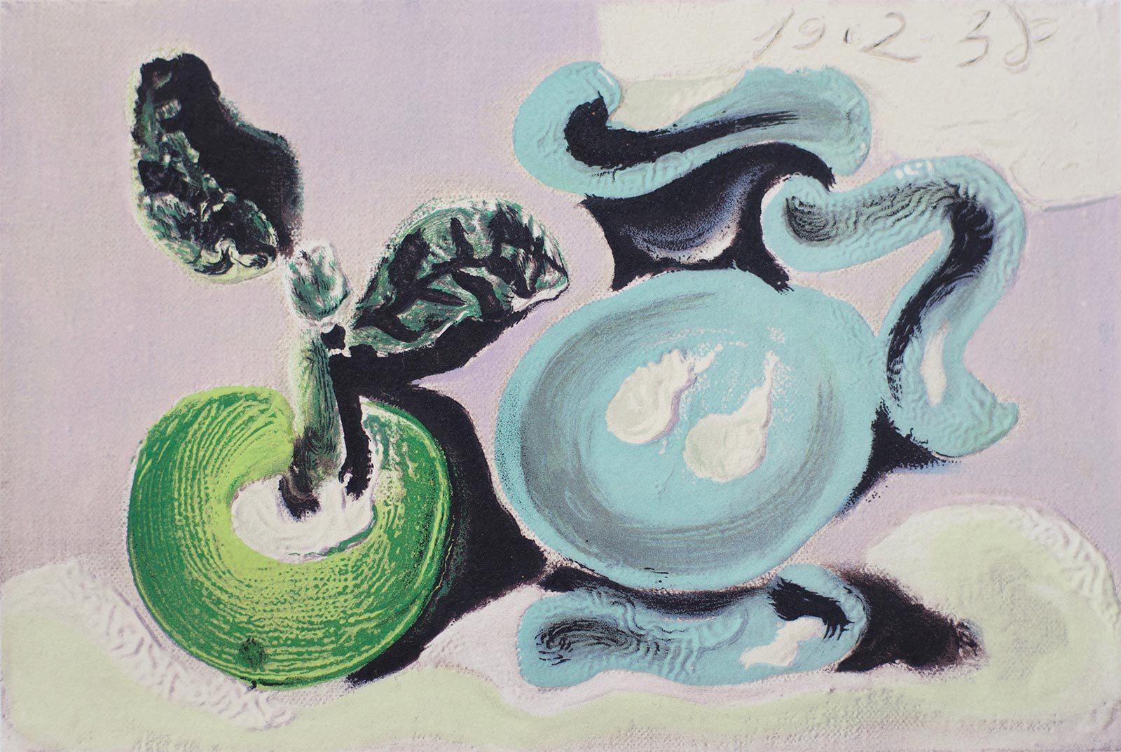 PICASSO E' NOTO Dans l'Atelier de Picasso 1957 Nature Morte au Pichet 19-02-1938