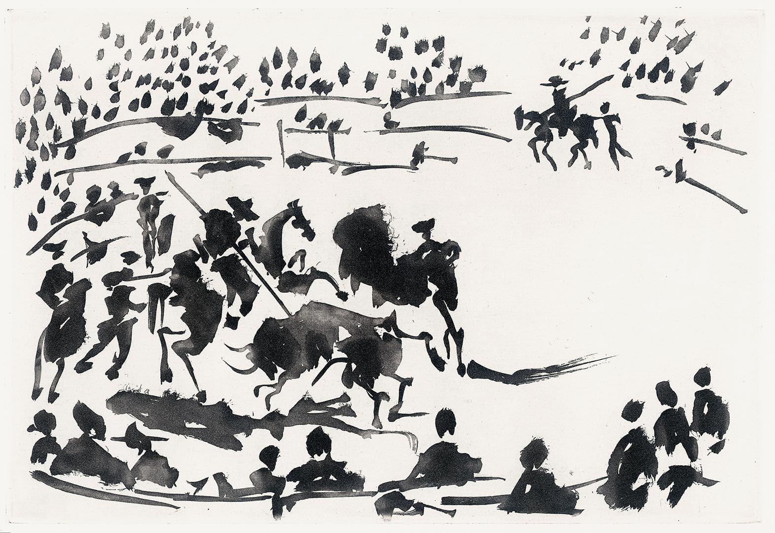 PICASSO E' NOTO Tauromaquia (o Arte de Torear) 1959