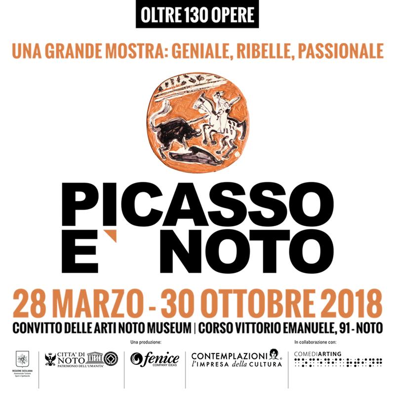PICASSO E' NOTO - Convitto delle Arti Noto Museum 28 marzo - 30 ottobre 2018