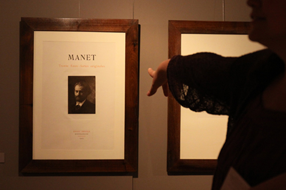 RENOIR MANET - Impressions of two geniuses