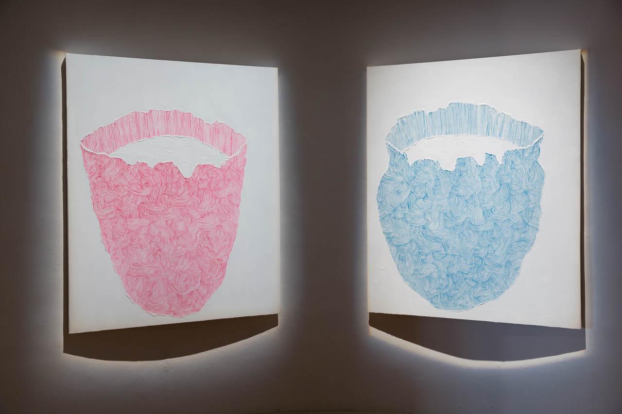 PETER KIM - SULL'ORLO DELLA FORMA 22 giugno – 4 novembre 2018 Museo Carlo Bilotti Aranciera di Villa Borghese